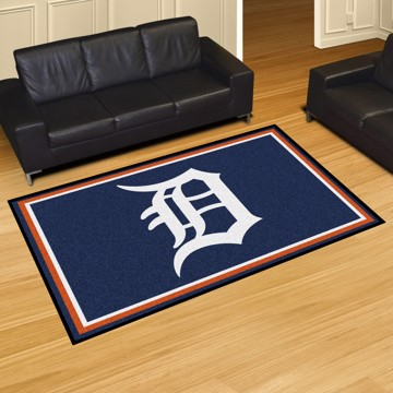 Picture of MLB - Detroit Tigers 8'x10' Plush Rug