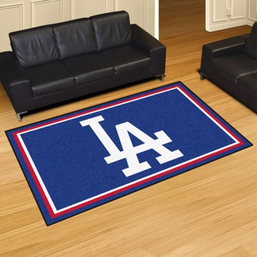 Picture of MLB - Los Angeles Dodgers 8'x10' Plush Rug