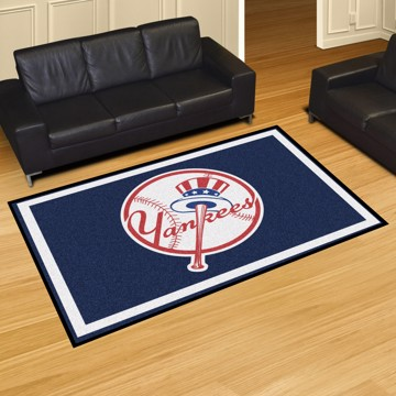 Picture of MLB - New York Yankees 8'x10' Plush Rug