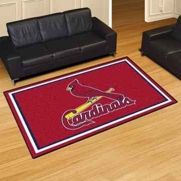 Picture of MLB - St. Louis Cardinals 8'x10' Plush Rug