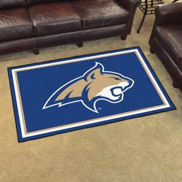 Picture of Montana State 8'x10' Plush Rug