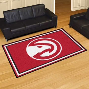 Picture of NBA - Atlanta Hawks 8'x10' Plush Rug