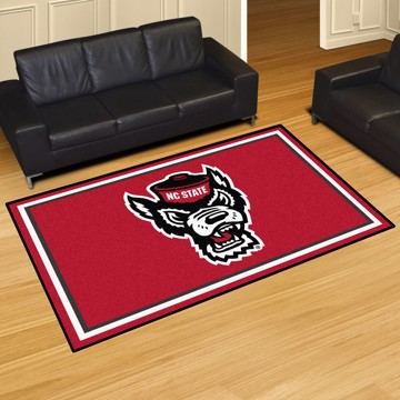 Picture of NC State 8'x10' Plush Rug