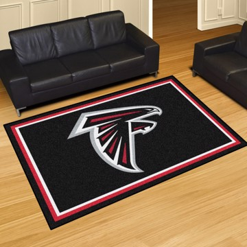 Picture of NFL - Atlanta Falcons 8'x10' Plush Rug