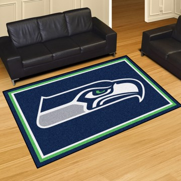Picture of NFL - Seattle Seahawks 8'x10' Plush Rug