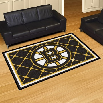 Picture of NHL - Boston Bruins 8'x10' Plush Rug
