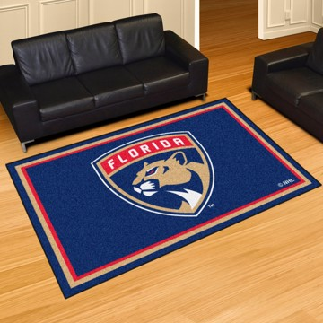 Picture of NHL - Florida Panthers 8'x10' Plush Rug
