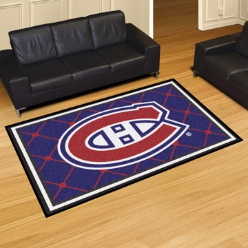 Picture of NHL - Montreal Canadiens 8'x10' Plush Rug
