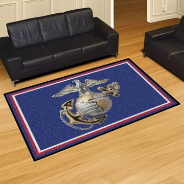 Picture of U.S. Marines 8'x10' Plush Rug