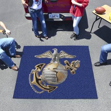 Picture of U.S. Marines Tailgater Mat