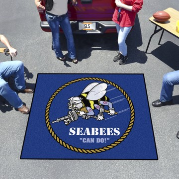 Picture of U.S. Navy - Seabees Tailgater Mat