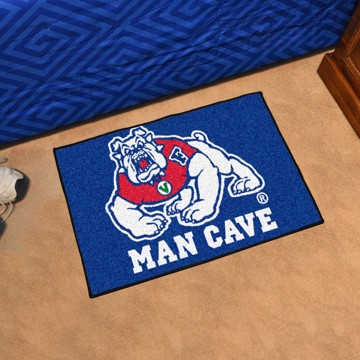 Picture of Fresno State Man Cave Starter Mat - Blue