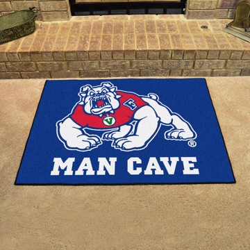 Picture of Fresno State Man Cave All-Star Mat - Blue