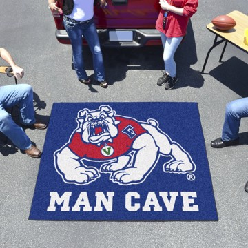 Picture of Fresno State Man Cave Tailgater Mat - Blue