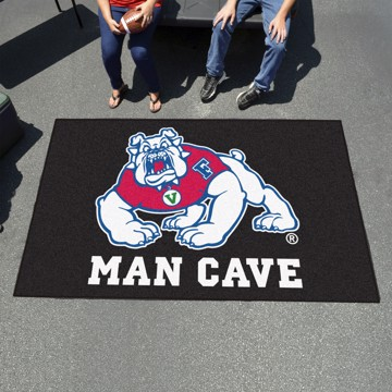 Picture of Fresno State Man Cave Tailgater Mat - Black