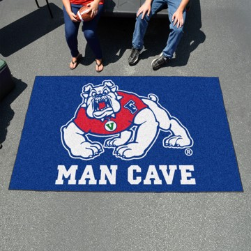 Picture of Fresno State Man Cave Ulti-Mat Mat - Blue