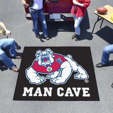 Picture of Fresno State Man Cave Ulti-Mat Mat - Black