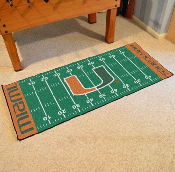Picture of Miami Football Field Runner