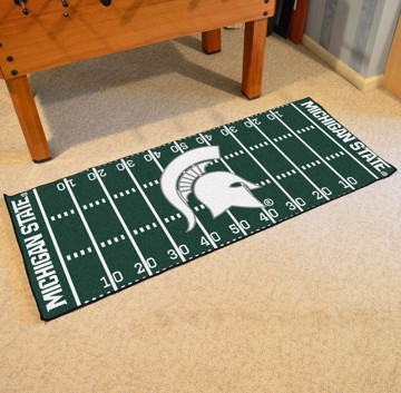 Picture of Michigan State Football Field Runner