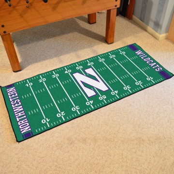 Picture of Northwestern Football Field Runner