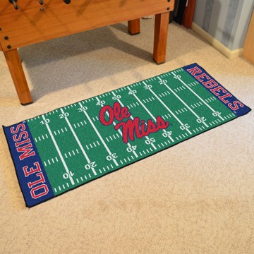 Picture of Ole Miss Football Field Runner