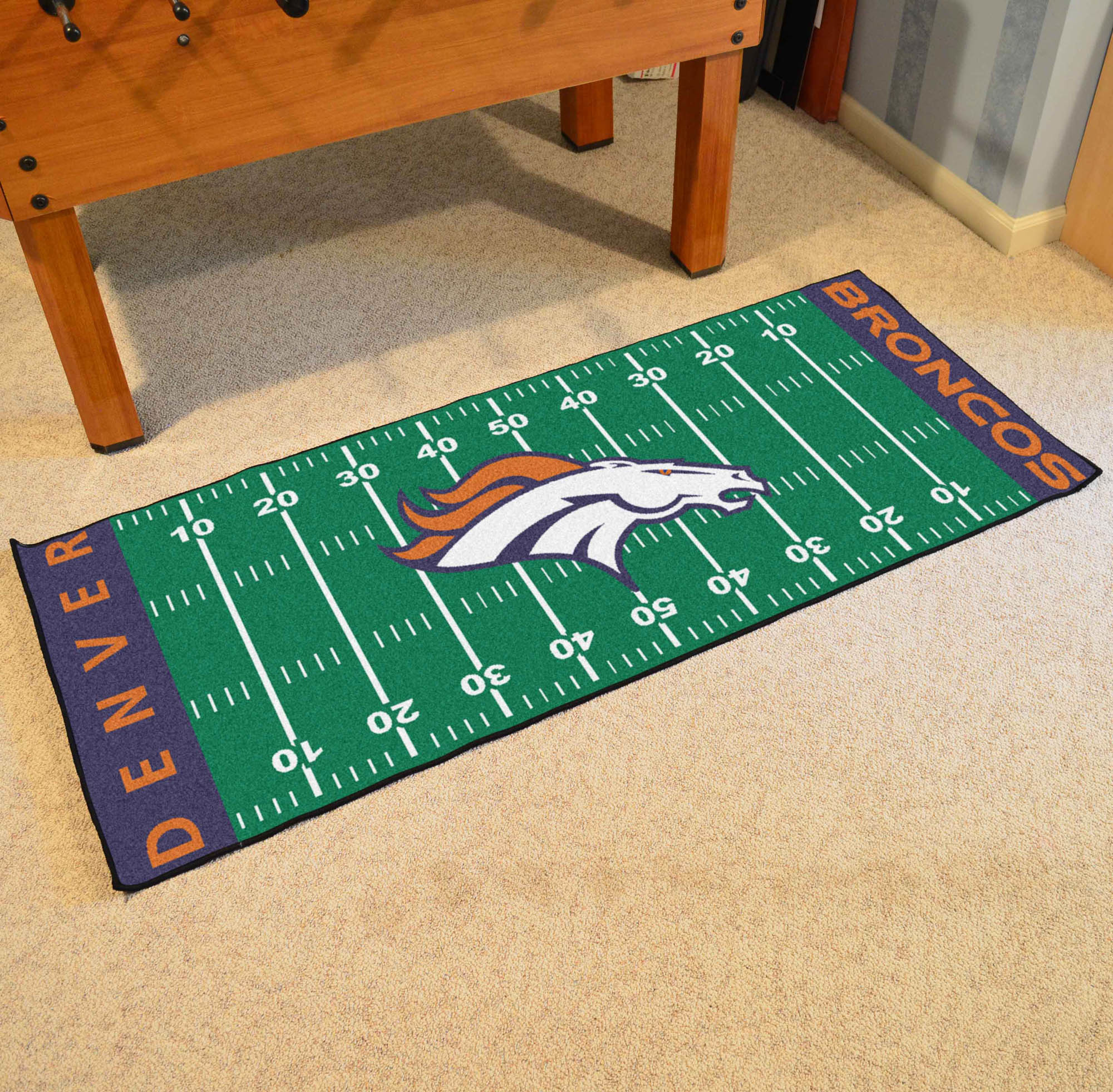 NFL - Denver Broncos Football Field Runner
