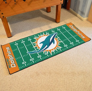 Picture of NFL - Miami Dolphins Football Field Runner