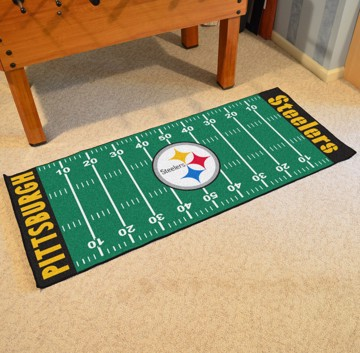 Picture of NFL - Pittsburgh Steelers Football Field Runner