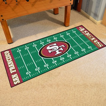 Picture of NFL - San Francisco 49ers Football Field Runner
