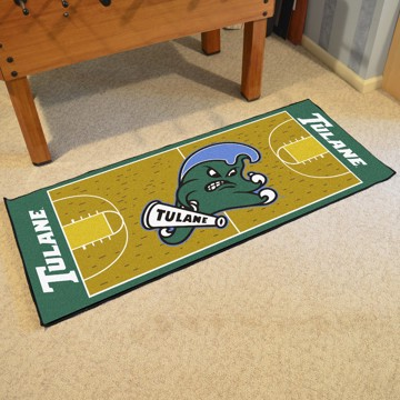 Picture of Tulane NCAA Basketball Runner