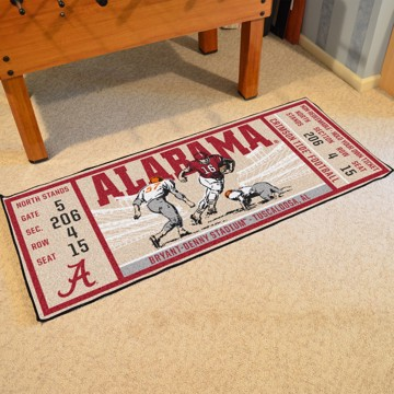 Picture of Alabama Ticket Runner
