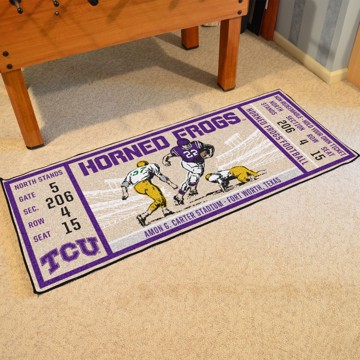 Picture of TCU Ticket Runner