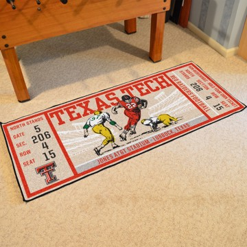 Picture of Texas Tech Ticket Runner