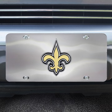 Picture of NFL - New Orleans Saints Diecast License Plate