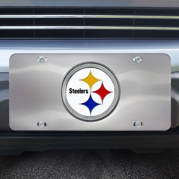 Picture of NFL - Pittsburgh Steelers Diecast License Plate