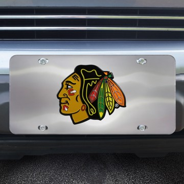 Picture of NHL - Chicago Blackhawks Diecast License Plate