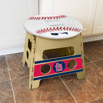 Picture of MLB - St. Louis Cardinals Folding Step Stool