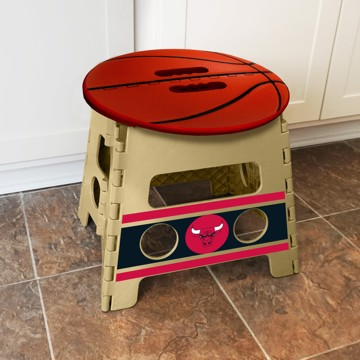 Picture of NBA - Chicago Bulls Folding Step Stool