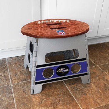 Picture of NFL - Baltimore Ravens Folding Step Stool