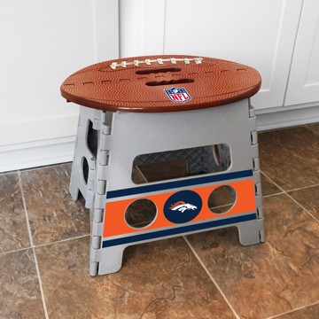 Picture of NFL - Denver Broncos Folding Step Stool
