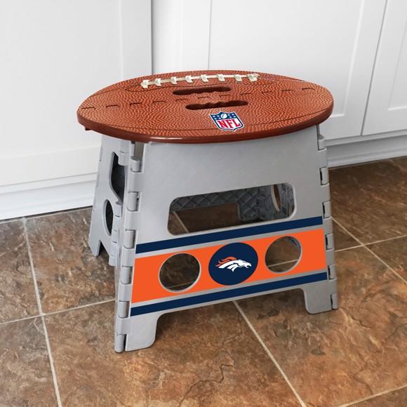 Picture of NFL - Denver Broncos Folding Step Stool