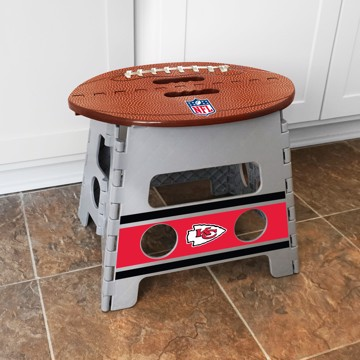 Picture of NFL - Kansas City Chiefs Folding Step Stool