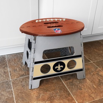 Picture of NFL - New Orleans Saints Folding Step Stool