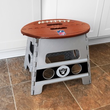 Picture of NFL - Oakland Raiders Folding Step Stool