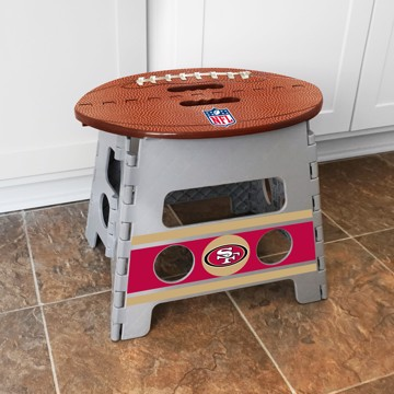 Picture of NFL - San Francisco 49ers Folding Step Stool