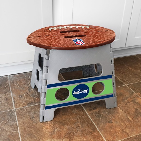 Terrific Nfl Seattle Seahawks Folding Step Stool Ocoug Best Dining Table And Chair Ideas Images Ocougorg