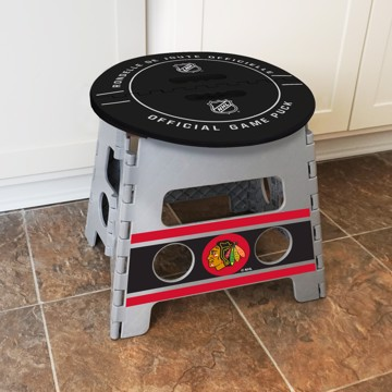 Picture of NHL - Chicago Blackhawks Folding Step Stool