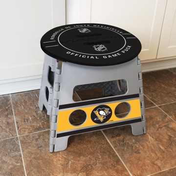 Picture of NHL - Pittsburgh Penguins Folding Step Stool
