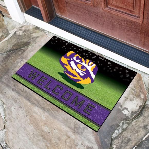 Picture of LSU Crumb Rubber Door Mat