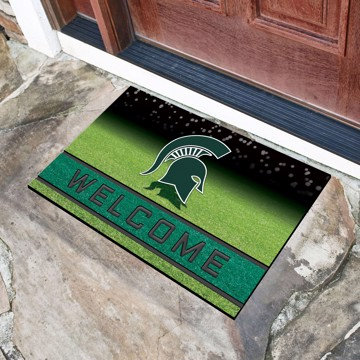 Picture of Michigan State Crumb Rubber Door Mat